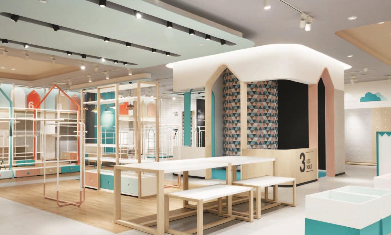 Verlichting voor retail winkels showrooms